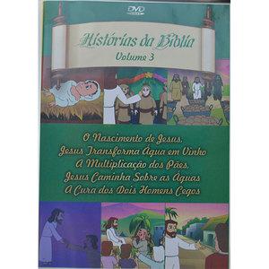 dvd histórias da bíblia vol 04 procade artigos religiosos